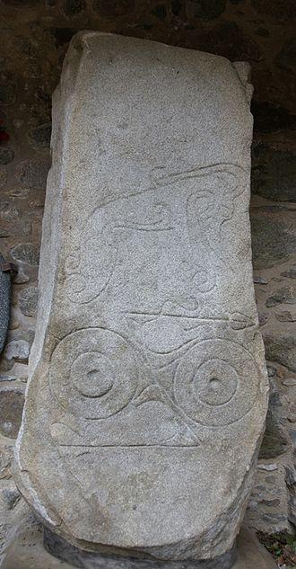 Dyce stones - Image: Dyce Symbol Stones 20110520 Dyce 1