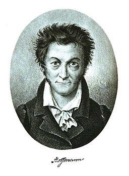 E.T.A. Hoffmann Selbstportrait