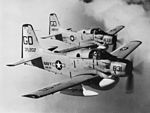 EA-1E Skyraiders of VAW-33 in flight in February 1963.jpg