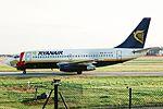 EI-CJF B737-204 Ryanair (Xmas) MAN 13DEC98 (6142255110).jpg