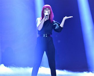 Slovenia in the Eurovision Song Contest 2017 - Image: EMA 2017 Nika Zorjan