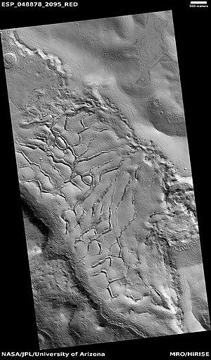 Elysium Planitia - Image: ESP 048878 2095fractures