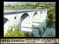 ETH-BIB-Corbières, Saane Brücke vom linken Ufer-Dia 247-15351.tif