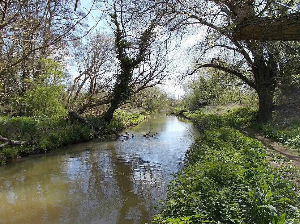 Eastern Yar River, Isle of Wight, UK