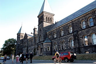 University College, Toronto - The East Wing was swiftly restored after suffering extensive fire damage in 1890.