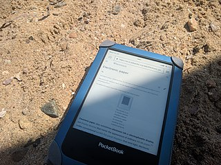 E-book Book-length publication in digital form