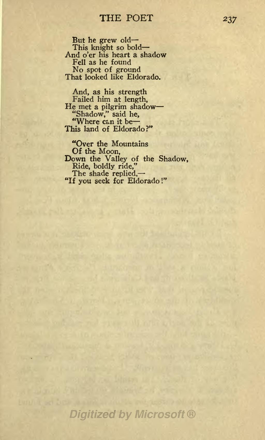 Poe Poems - Keywordsfind.com