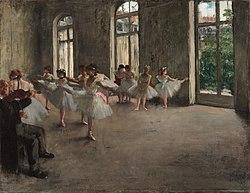 Edgar Degas: Ballet Rehearsal