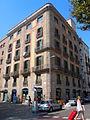 Edifici d'oficines i habitatges, pg de colom 1 cantonada plaça antoni lopez , Barcelona.jpg