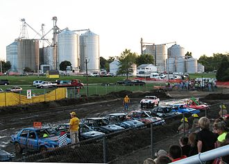 Edinburg, Illinois - Image: Edinburg Demolition Derby