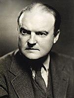 Ein fotografisches Porträt von Edmund Wilson