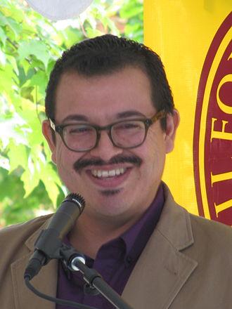 Eduardo C. Corral - Eduardo Corral at 2013 Fall for the Book