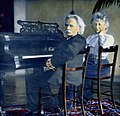 Edv. Grieg og frue 1906. Paa Hotel Westminster des 1906 (9469048305).jpg