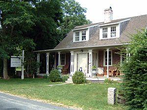 Edward Gorey - Edward Gorey's home on Cape Cod, Yarmouth Port, Massachusetts (2006)