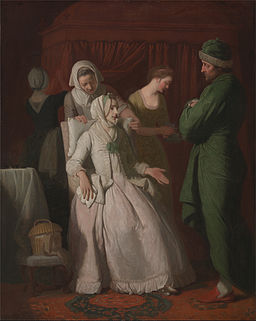 Edward Penny - The Virtuous Comforted by Sympathy - Google Art Project