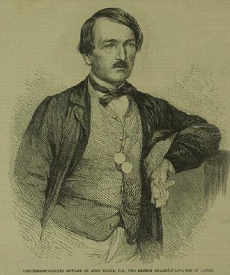 Edward St. John Neale - Edward St John Neale, British Chargé d'Affaires in Japan in 1864
