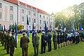 Eesti lipp 135 tähistamine Toompea lossi juures.jpg