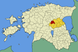 Pajusi Parish within Jõgeva County.