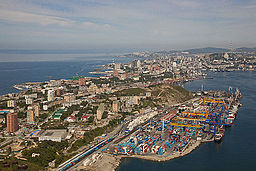 Egersheld peninsula and Vladivostok container terminal.jpg