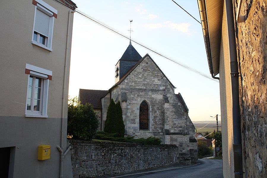 Église Saint-Remi d'Olizy,  (Classé, 1921)