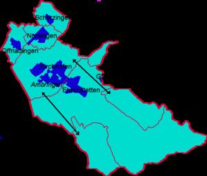 Ehrenkirchen - Map of Ehrenkirchen