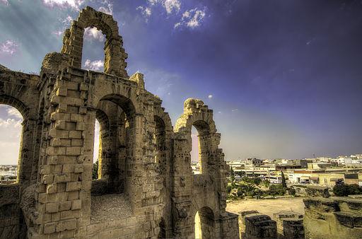 El Djem Amphitheater (external view)