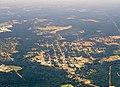 Elberta, Alabama from a plane.jpg