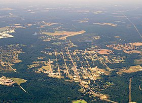 Elberta, Alabama from a plane.jpg