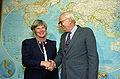 Elisabeth Rehn and Les Aspin.jpg