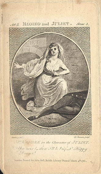 Elizabeth Satchell - Elizabeth Satchell by Johann Heinrich Ramberg