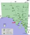 Elliston location map in South Australia.PNG