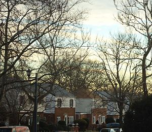 Elmont, New York - Residential area in December.