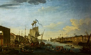 Embarkation of the expeditionary corps of Menorca at the port of Marseille under the orders of Marshal of Richelieu