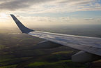Embraer 190 - Wing and winglet at sunset.jpg