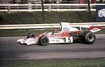 Emerson Fittipaldi McLaren M23 1974 Britain.jpg