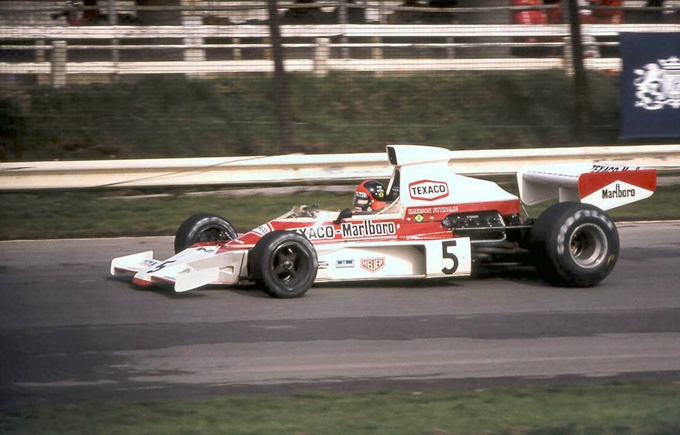 Emerson Fittipaldi McLaren M23 1974 Britain