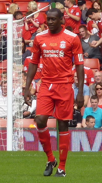 Emile Heskey - Heskey during Jamie Carragher's testimonial match in 2010