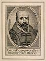 Emilio Campolongo. Line engraving by H. David, 1630. Wellcome V0000986.jpg