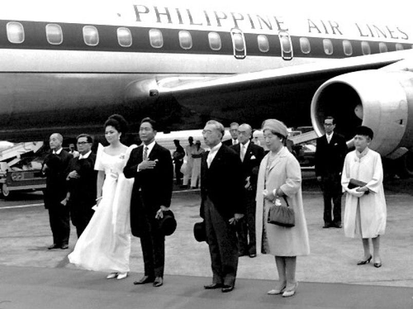 Emperor Hirohito in Philippines 1966
