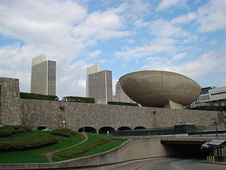 Ville Radieuse - Empire State Plaza, Albany, New York