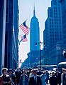 Empire State Building (seen from Fifth Av. in 1962).jpg