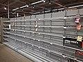 Empty chips shelves in AH Delft 02.jpg