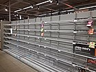 Empty chips shelves in AH Delft 02.jpg