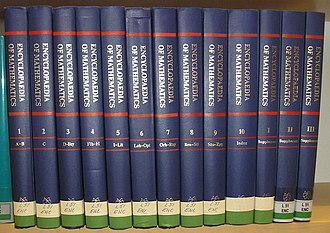 Encyclopedia of Mathematics - A complete set of Encyclopedia of Mathematics at a university library.