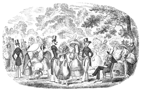 English Caricaturists, 1893 - A Scene in Kensington Gardens.png