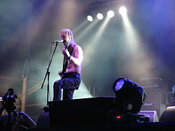 Gli Ensiferum al Metalcamp 2007