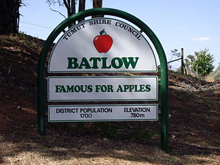 Batlow, New South Wales Town in New South Wales, Australia