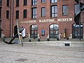 Entrance to Merseyside Maritime Museum - geograph.org.uk - 1162336.jpg