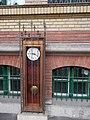 Eotvos Lorand University, Faculty of Humanities, clock, 2016 Budapest.jpg