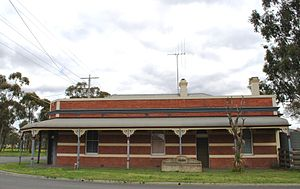 Epsom, Victoria - The former Turf Club Hotel at Epsom